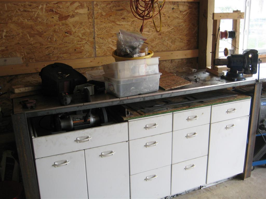 Work Benches From Scratch Archive Page 3 The Garage Journal Outlet 4 Prong For Wiring A Stove Http Www Hammerzone Com Board